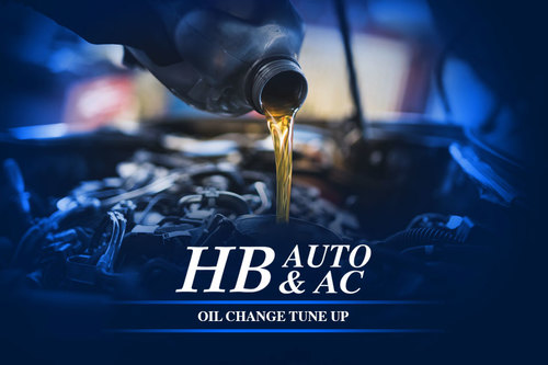 Oil Change Tune Up