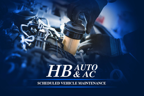 Scheduled Vehicle Maintenance