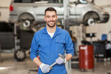 Technician Working | H B Auto & AC